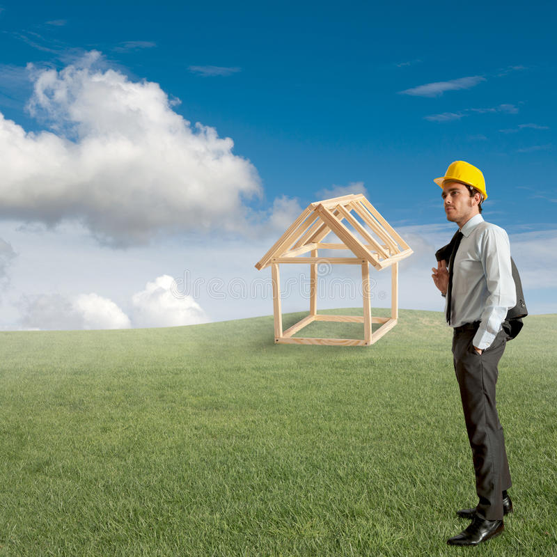 Building home royalty free stock photo