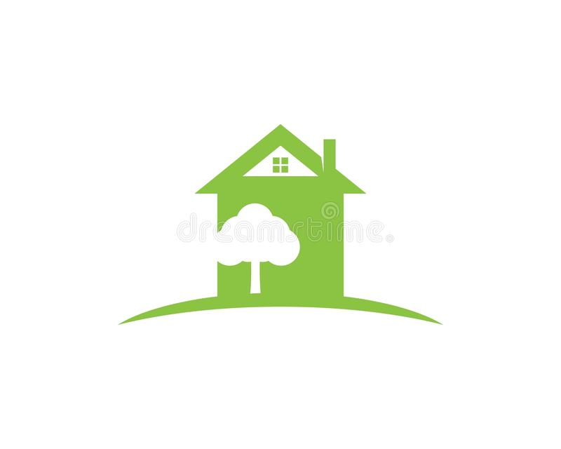 Building home nature icon vector illustration vector illustration