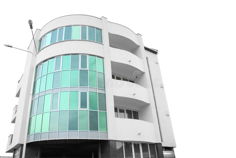 Building of hotel royalty free stock photo