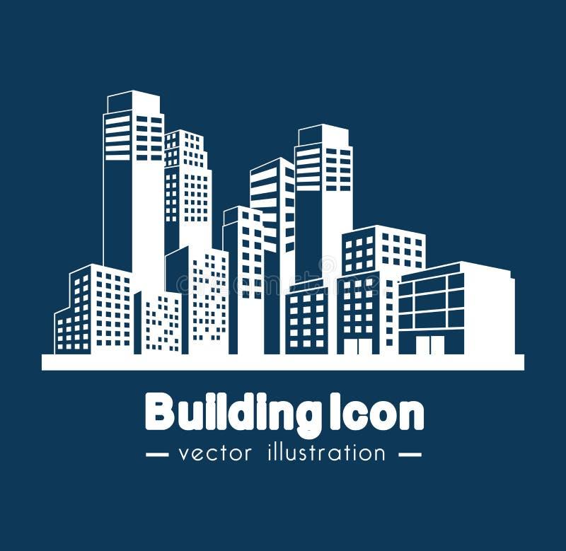 Building icon design. Illustration eps10 graphic royalty free illustration