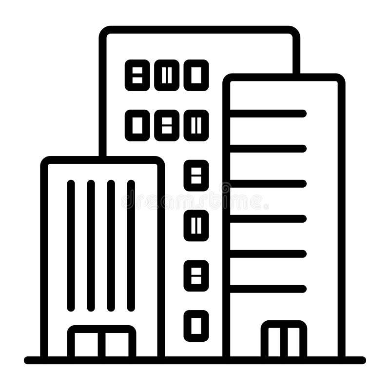 Building icon vector. Illustration photo vector illustration