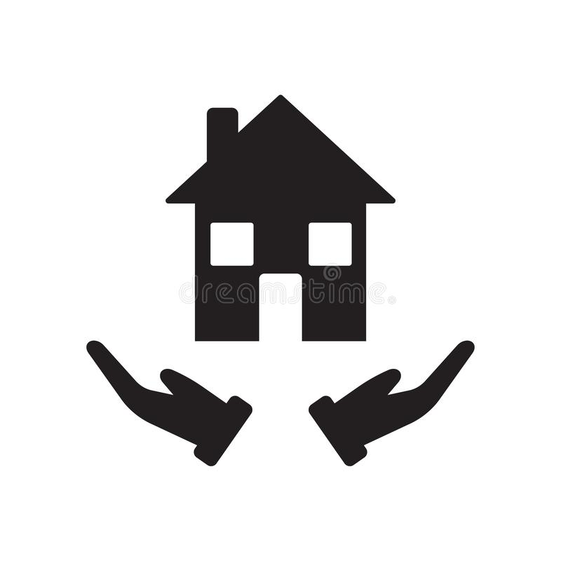 Building insurance icon. Trendy Building insurance logo concept stock illustration