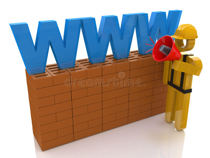 Building Internet stock images