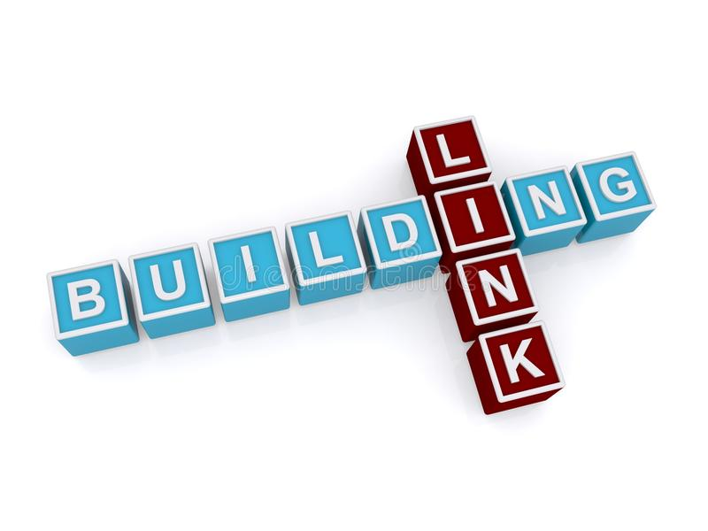 Building, Link royalty free stock photography