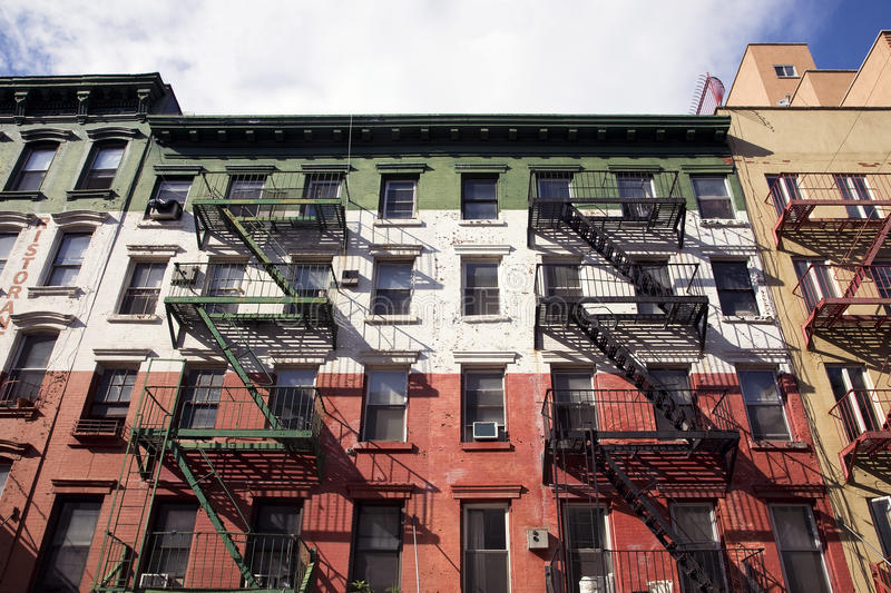 Building in Little Italy stock photos