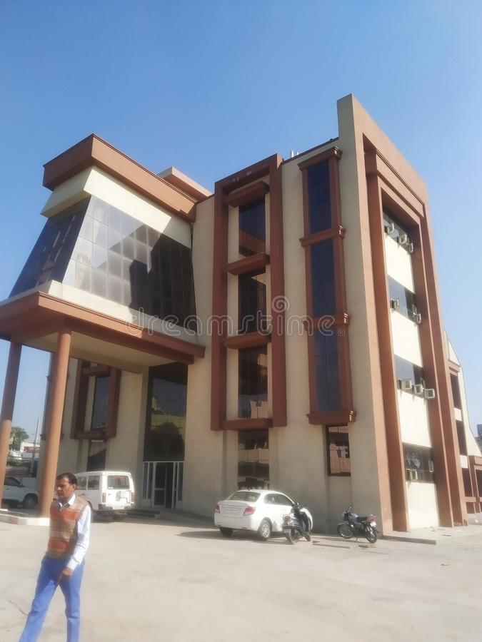 A government building in india. This building is located in Ambala city haryana India. It`s a urban Development department royalty free stock photo