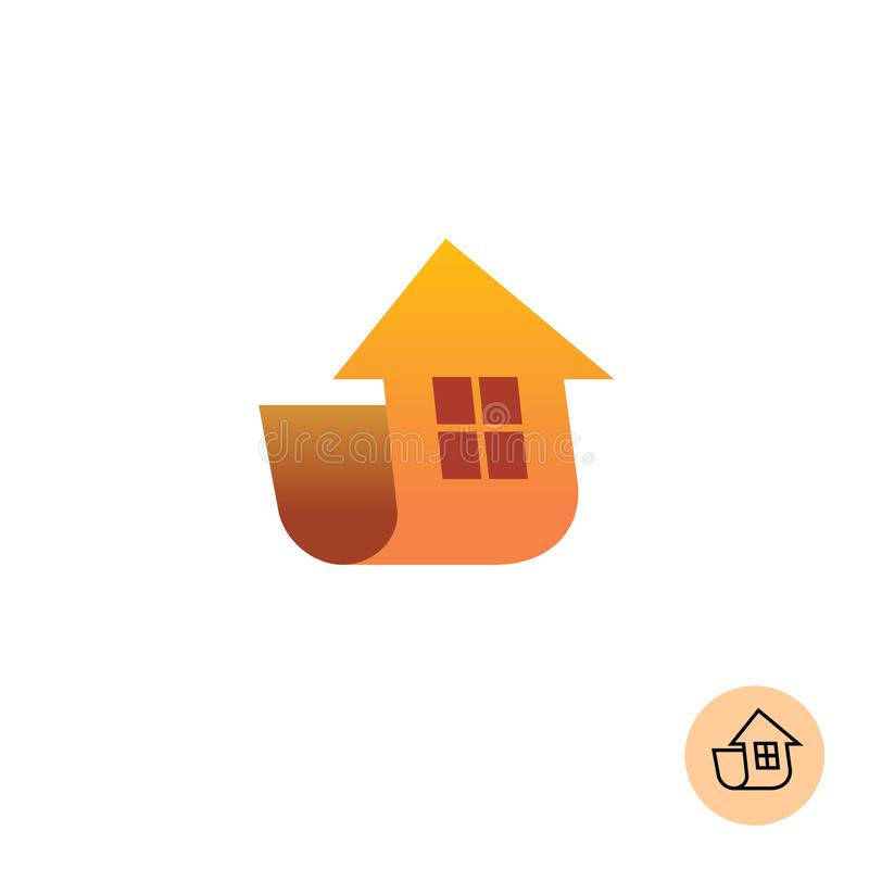 Building house logo vector illustration