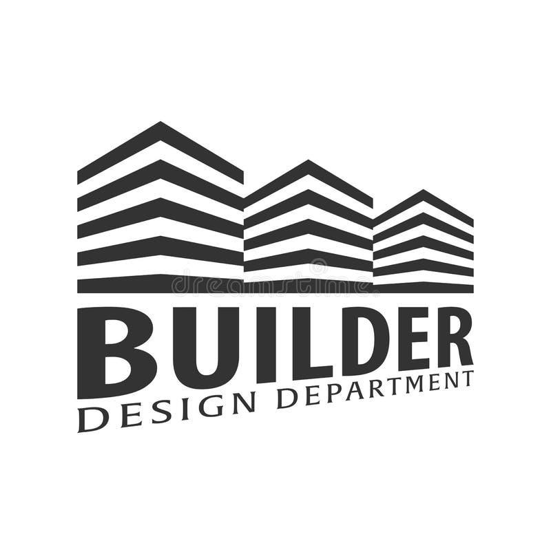 Building Logo . Design Department. Modern Buildings