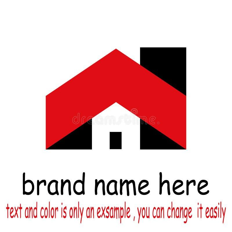 Building logo vector. Sample icon building logo vector royalty free illustration