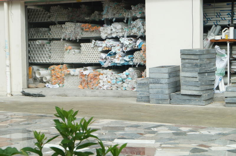 Building materials shop editorial stock photo  Image of