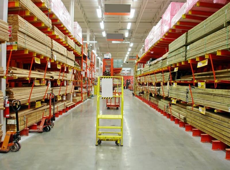 Building materials store. A Big Building materials store stock photos