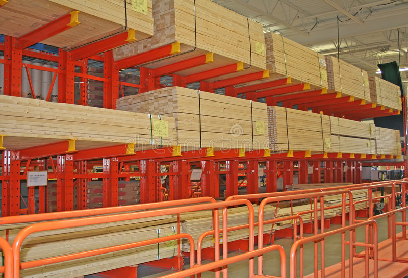 building materials store stock image image of lift production