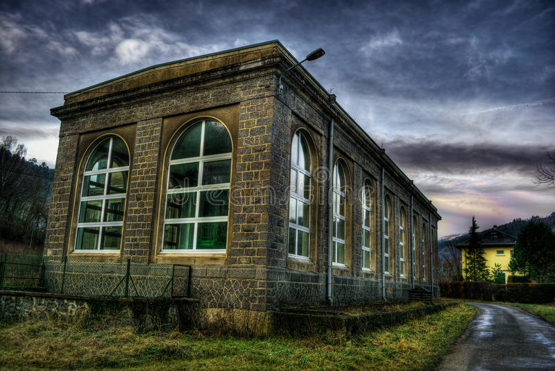 Building in Munster HDR royalty free stock photo