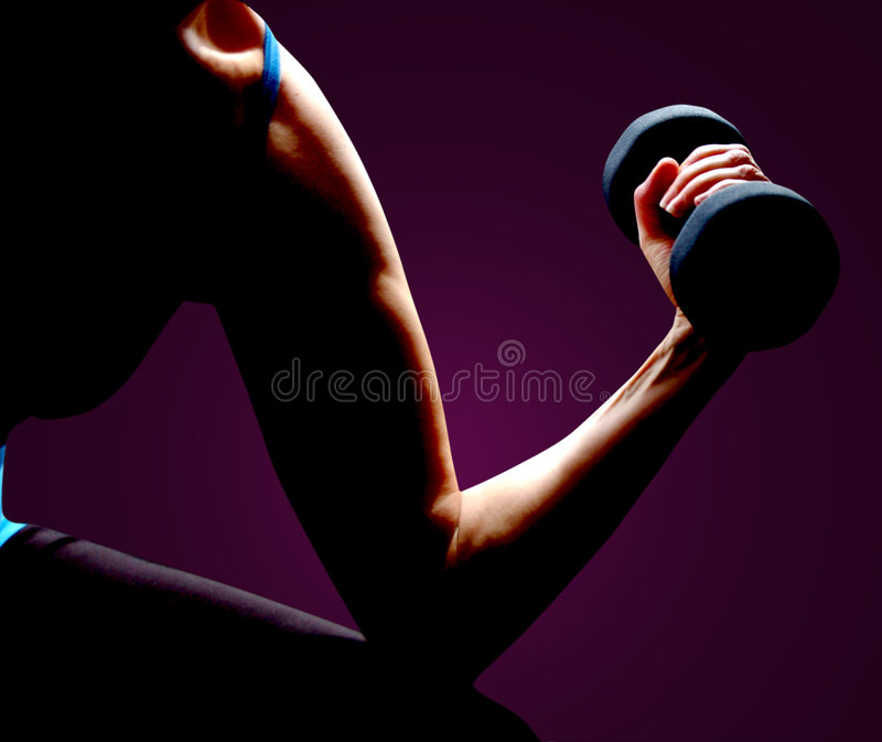 Building Muscle stock images