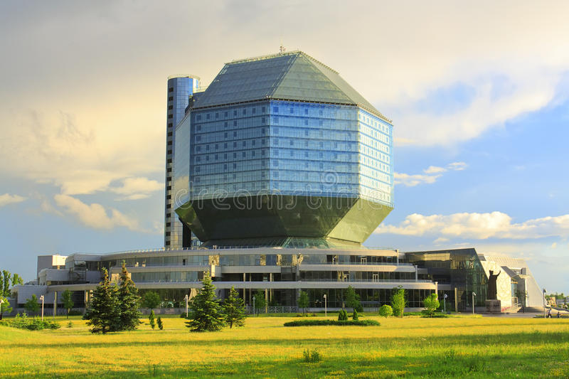 Download Building Of The National Library In Minsk Stock Image - Image: 25661399