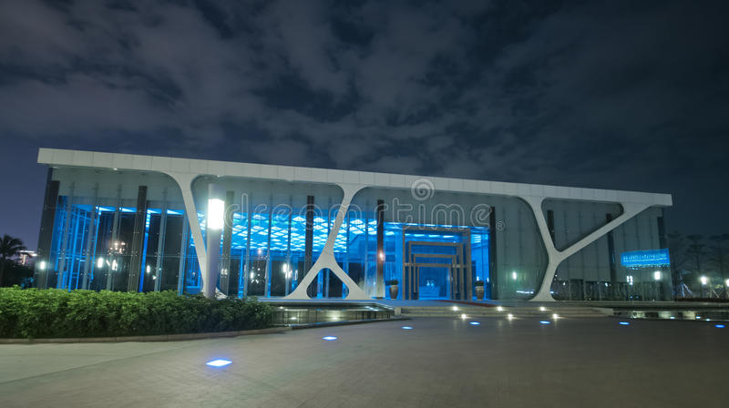 Download Building at night stock photo. Image of build, constructions - 24647916