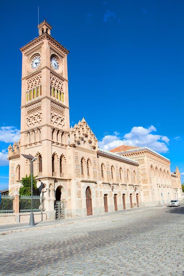 Free Building Of Train Station, Toledo, Spain Stock Photo - 16718950