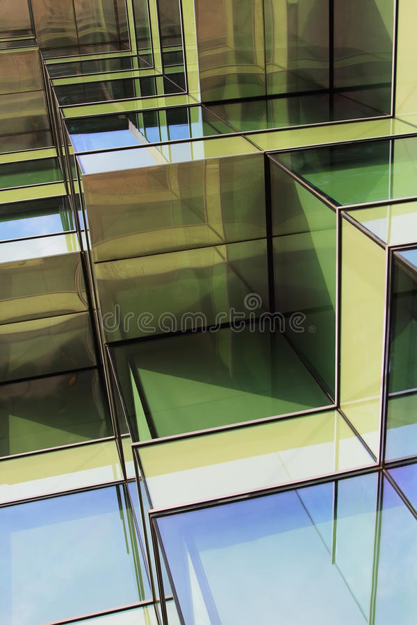 Building Offices In Hospitalet, Barcelona Royalty Free Stock Images