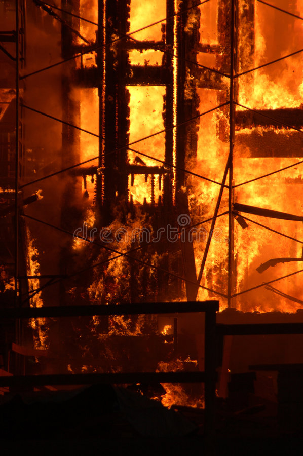Free Building On Fire Stock Photos - 1235303