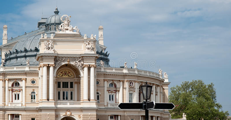 Building of an opera royalty free stock photos