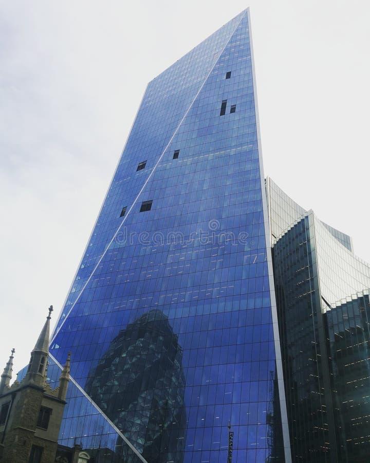 Building. Oposite gerkin royalty free stock image