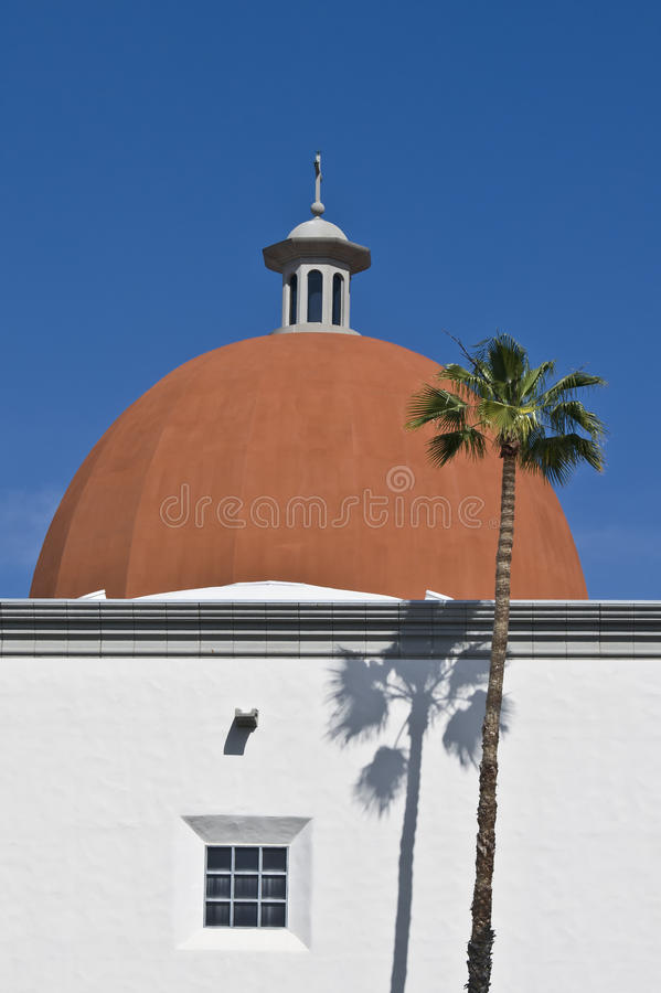 Download Building With Orange Dome, California Stock Photo - Image: 23677886