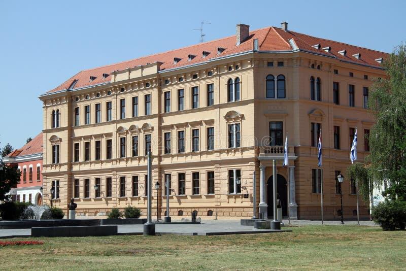 Building in Osijek stock photo
