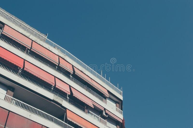 Building Part And Sky Free Public Domain Cc0 Image