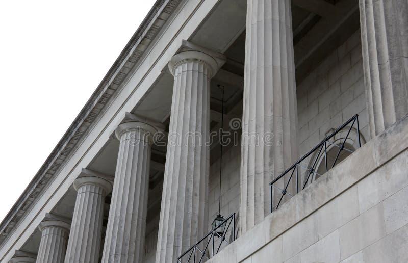 Building Pillars stock images
