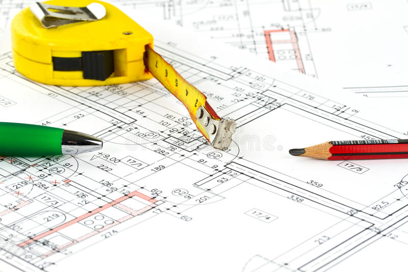 Download Building plan stock photo. Image of drawing, concept - 17899532