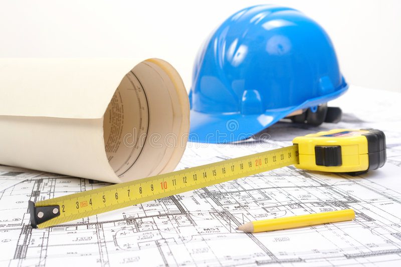 Download Building Plans Royalty Free Stock Photos - Image: 5265058