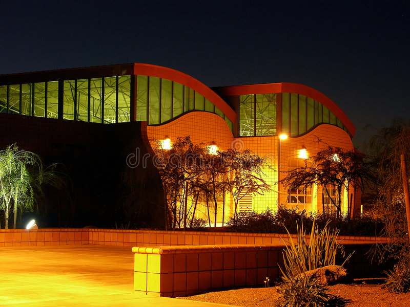 Download Building in Pre-Dawn Light stock photo. Image of real, sunrise - 169686