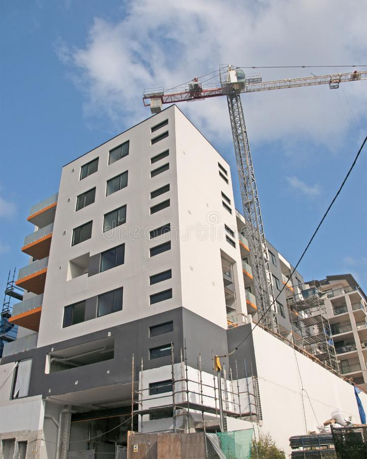 Building progress update ed216. At 47 Beane St. Gosford. March 14, 2019. Gosford, New South Wales, Australia - March 14, 2019: Construction and building progress royalty free stock photography