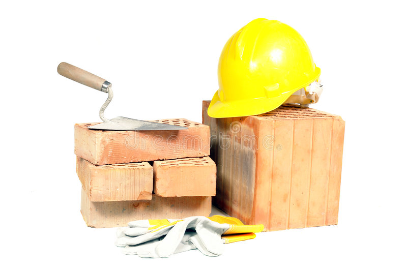 Building props stock photography