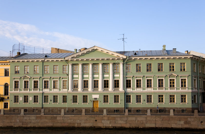 Download Building On The Quay Stock Image - Image: 8555791