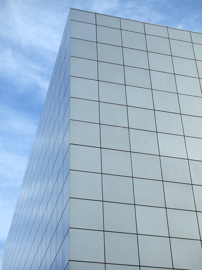 Building Reflection royalty free stock photos