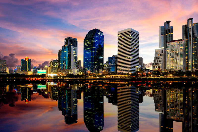 Download Building with Reflection stock image. Image of cityscape - 26800171
