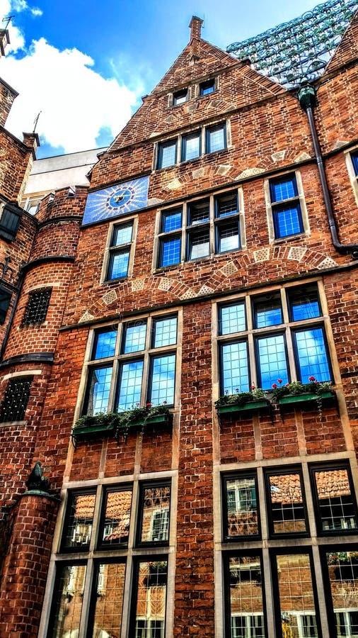Architektur. Building reflection windows historical stock photos