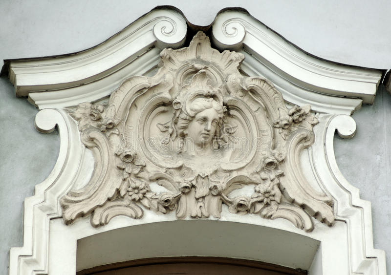 Building Relief Detail Stock Photography