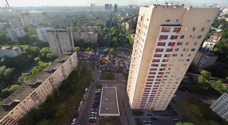 Download Building On Rokossovsky Blvd Editorial Stock Image - Image of modern, development: 25150429