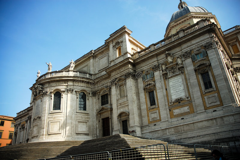 Building in Rome Italy royalty free stock photography