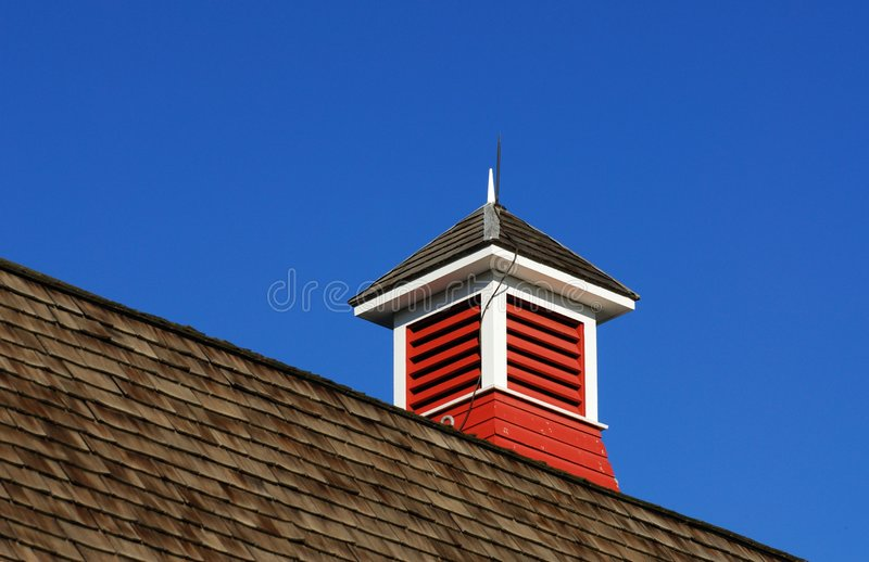 Building roof royalty free stock photo