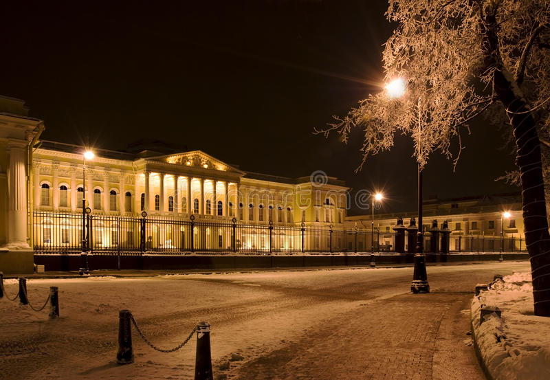 The building of the Russian Museum royalty free stock photography