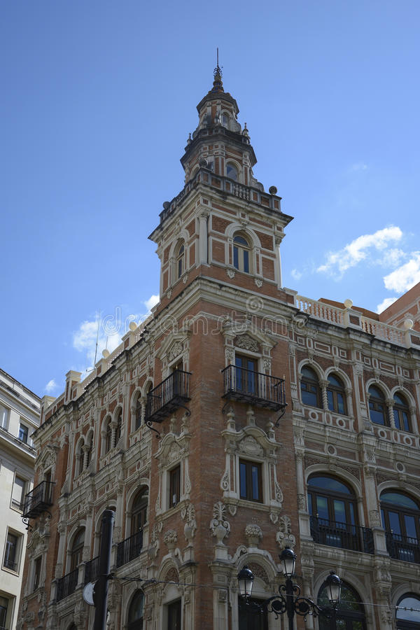 Building in Sevilla royalty free stock photography