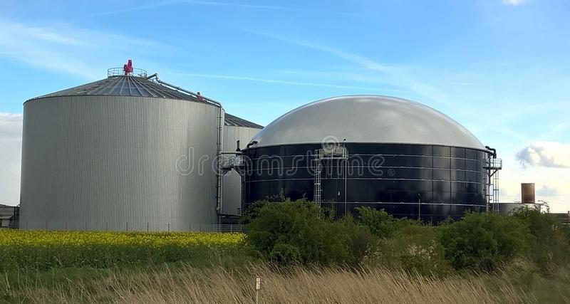 Building, Silo, Storage Tank, Sky stock images