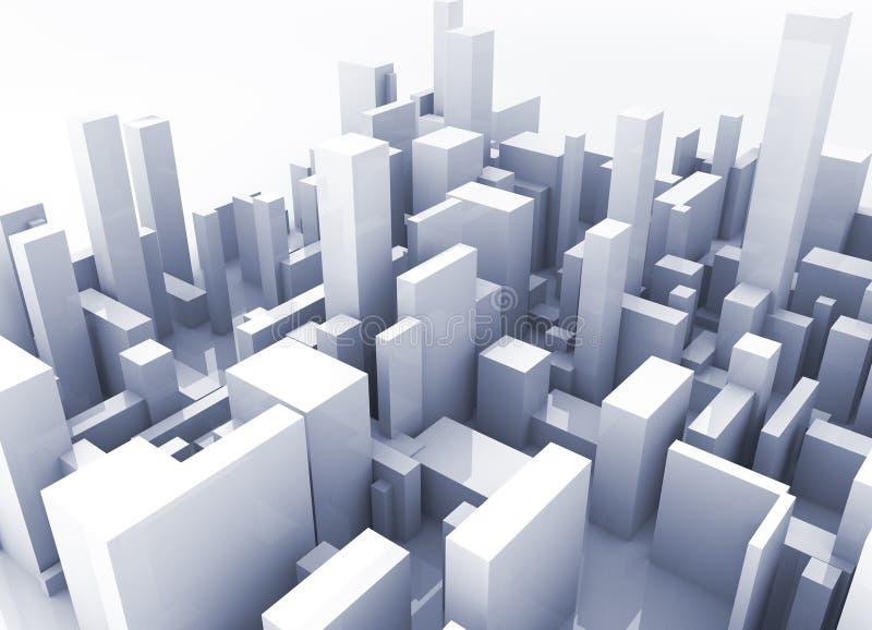 Building simulation royalty free stock photo
