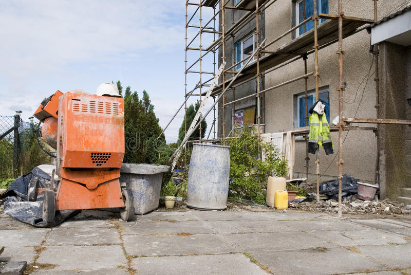 Download Building site stock image. Image of buckets, horizontal - 26418211