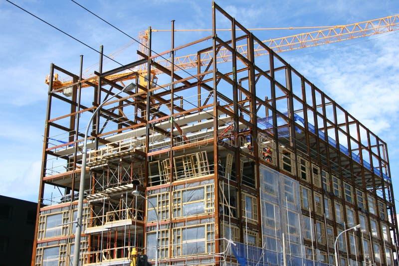 Download Building site stock photo. Image of wellington, blue, city - 62394