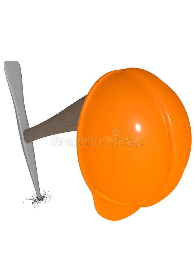 Download Building site stock illustration. Image of bucket, white - 35494539