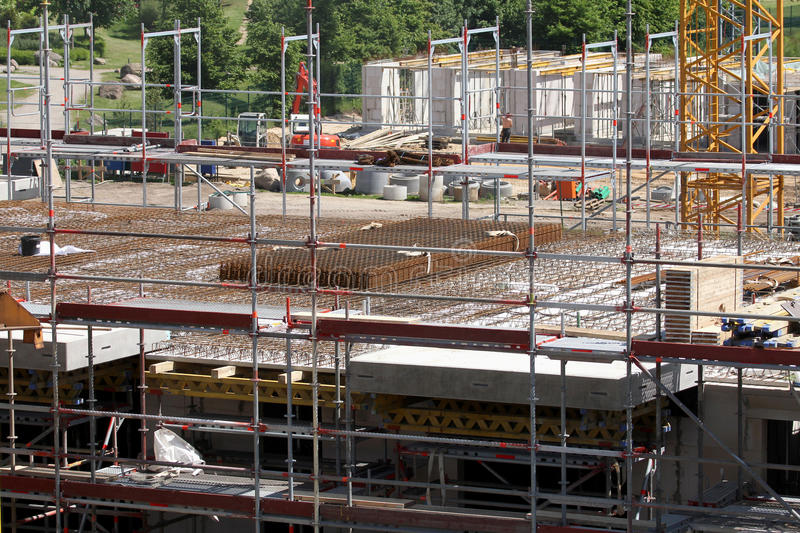 Building Site, Tools And Scaffold 5 Stock Photos